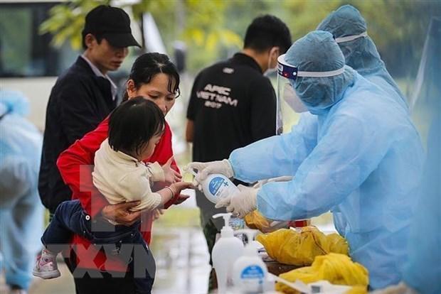 新冠肺炎疫情:越南新增12例输入性病例 hinh anh 1
