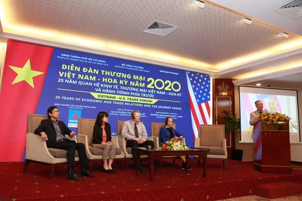 促进越南与美国企业贸易合作 hinh anh 1