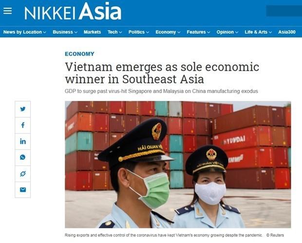 Nikkei Asia:越南——东南亚地区唯一经济成功案例 hinh anh 1