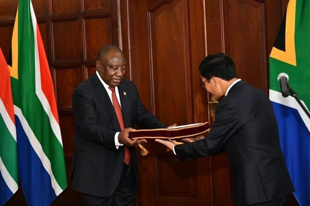 """努力促进越南与南非""""致力于合作与发展伙伴""""关系 hinh anh 1"""
