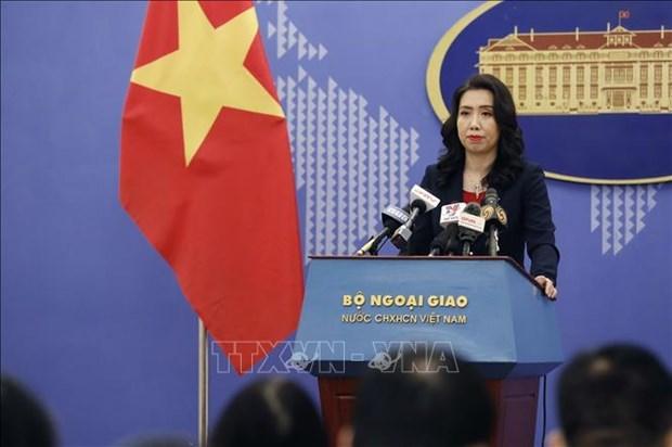 外交部例行新闻发布会:强调维护东海可持续和平和长期稳定的必要性 hinh anh 1