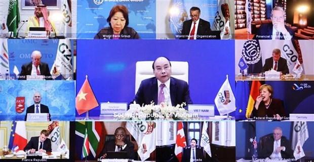 阮春福总理:和平、稳定、合作共同发展是可持续和包容性发展的先决条件 hinh anh 1
