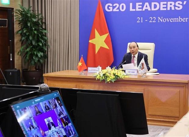阮春福总理:和平、稳定、合作共同发展是可持续和包容性发展的先决条件 hinh anh 2