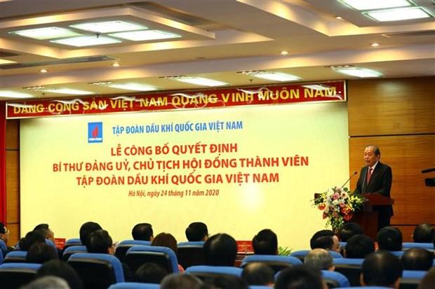 越南国家油气集团有新董事长 hinh anh 2