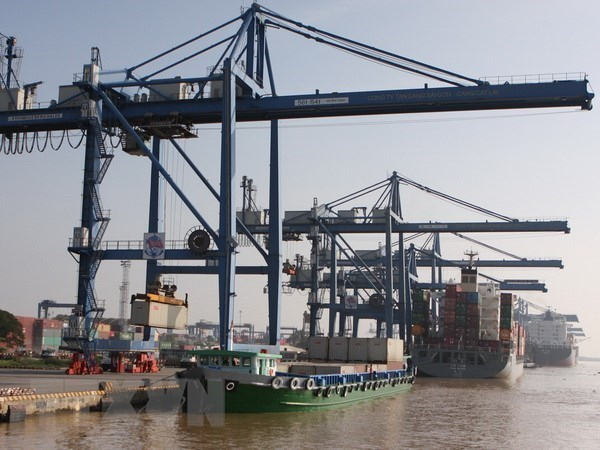 2020年底越南各港口货物吞吐量呈下降之势 hinh anh 1