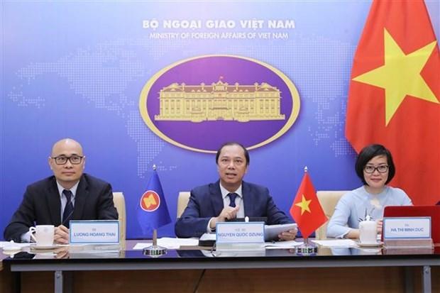  ASEAN 2020:第四次东盟媒体论坛举行 hinh anh 1