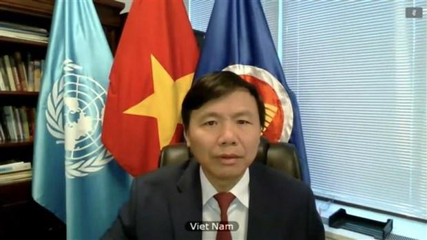 越南与联合国安理会:越南呼吁国际社会兑现对伊拉克援助的承诺 hinh anh 2