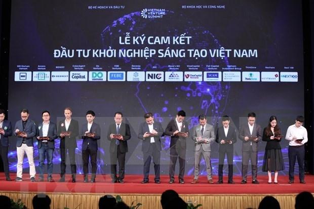 33个投资基金会承诺对越南创新创业领域投资8.15亿美元 hinh anh 2