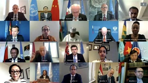 越南欢迎各方在叙利亚宪法委员会框架下进行谈判 hinh anh 1