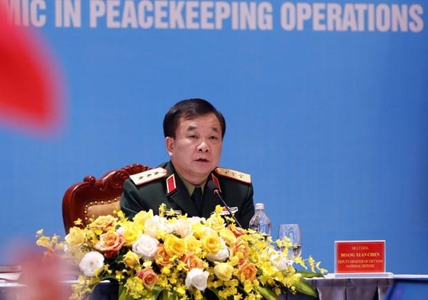 越南与联合国安理会:提高妇女在维和行动中的作用 hinh anh 2