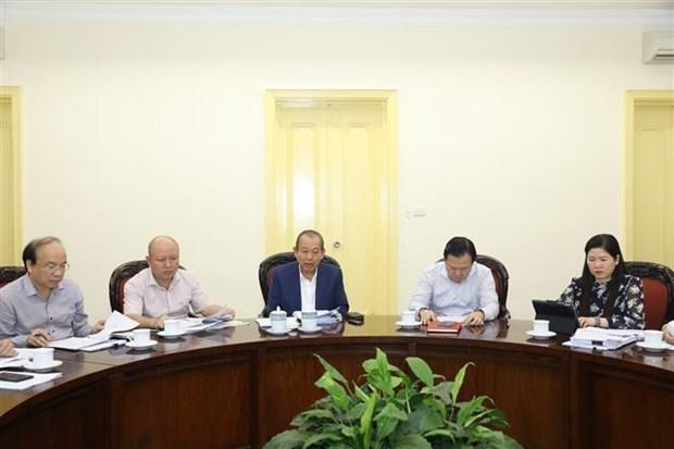 越南政府常务副总理指示处理工商业低效率项目 hinh anh 1