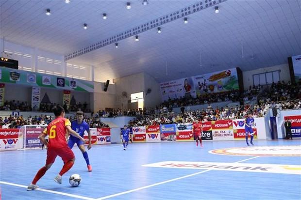 泰山南夺得2020年国家HDBank杯室内五人制足球锦标赛冠军 hinh anh 2