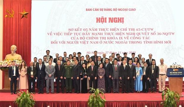 海外越南人侨务工作是越南党和国家外交政策的支柱 hinh anh 2