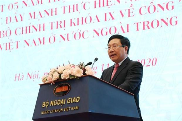 海外越南人侨务工作是越南党和国家外交政策的支柱 hinh anh 1