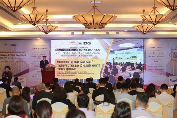 数字化转型:越南5家典范银行获推崇 hinh anh 1