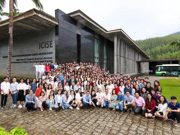 2020年第八届越南科学学校活动正式开幕 hinh anh 1