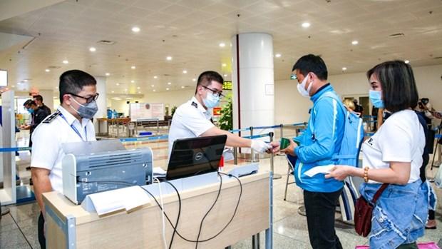 2020年11月越南接待外国游客量略有增加 hinh anh 1