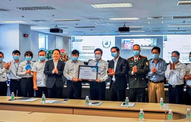 内排国际机场获得国际机场协会机场健康认证 hinh anh 1