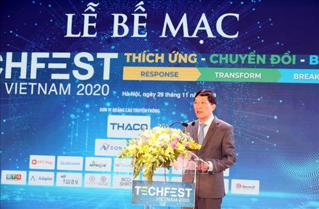 2020年越南国家创新创业节落下帷幕 hinh anh 1