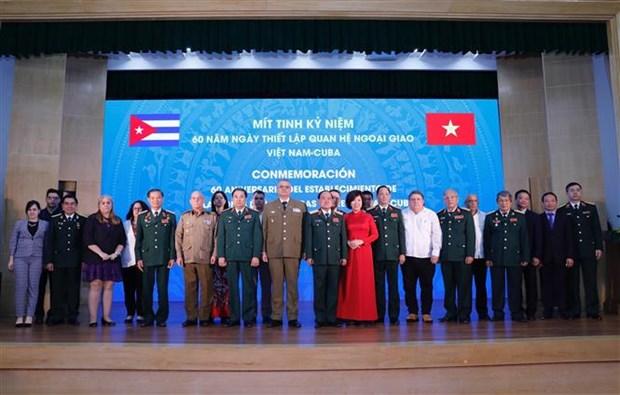 加强越南—古巴双边防务合作 hinh anh 2