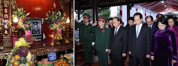 越南政府总理阮春福出席黎德英主席诞辰100周年纪念活动 hinh anh 3