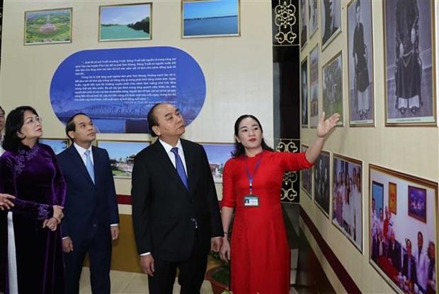 越南政府总理阮春福出席黎德英主席诞辰100周年纪念活动 hinh anh 2