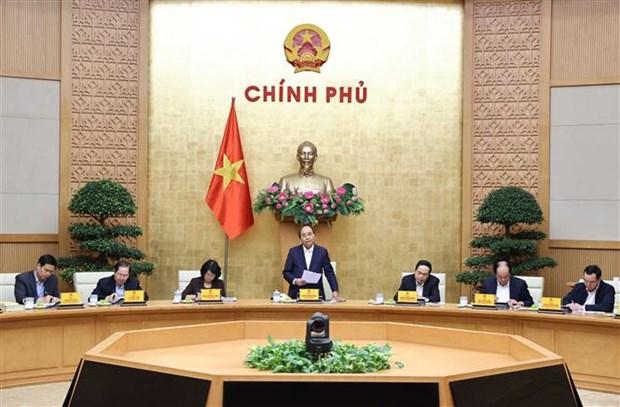 越南政府总理阮春福就爱国竞赛举办工作作出指导 hinh anh 1