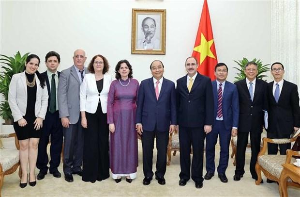 越南政府总理阮春福会见古巴驻越大使 hinh anh 2