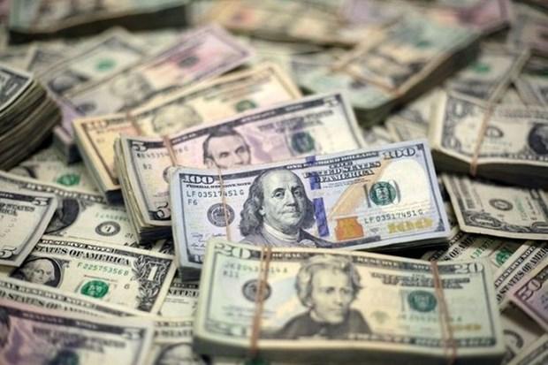 今日上午越盾对美元汇率中间价上调5越盾 hinh anh 1
