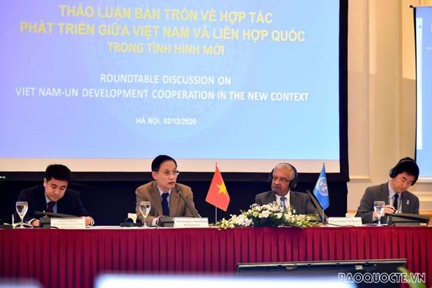 制定越南与联合国2022-2026年合作发展框架 hinh anh 2