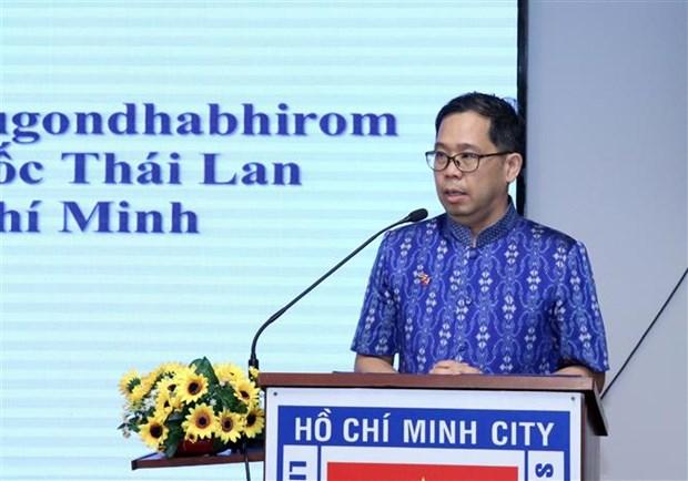 泰国国庆友好见面会在胡志明市举行 hinh anh 2
