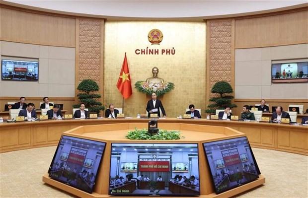 越南政府11月份例行会议:力争2020年国内生产总值增长2.5-3% hinh anh 1