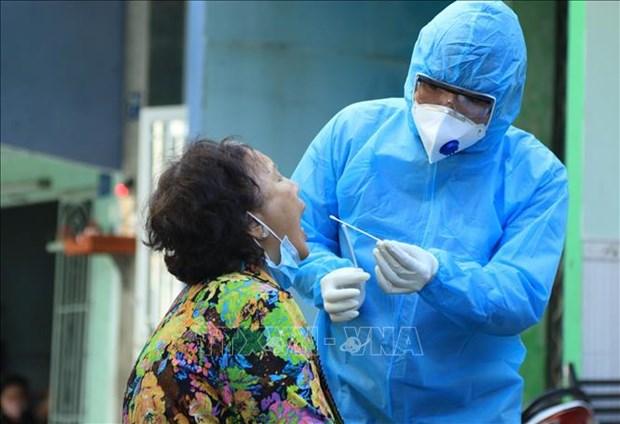 新冠肺炎疫情:胡志明市852名密切接触者中有838人病毒检测结果为阴性 hinh anh 1