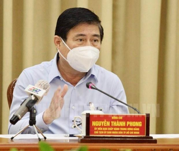 胡志明市将严格处理违反防疫规定的行为 hinh anh 1