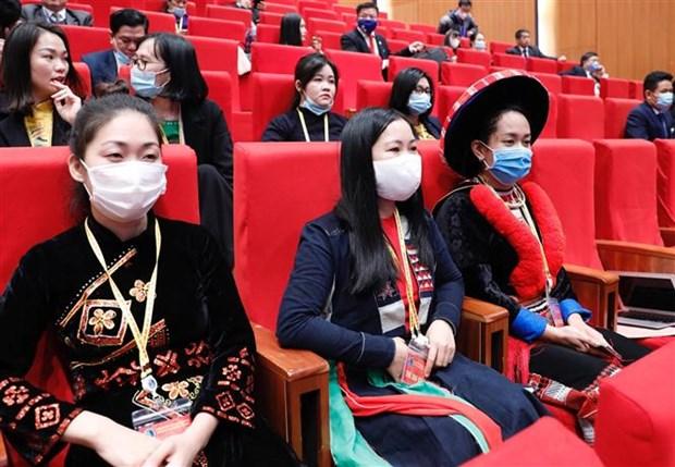2020年第二届越南各少数民族代表大会隆重开幕 hinh anh 2