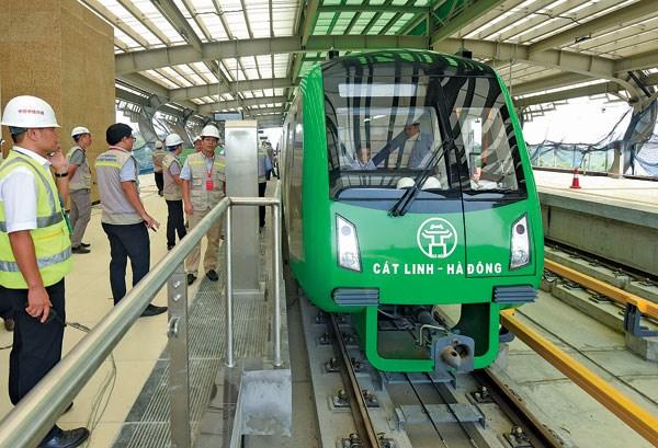 河内轻轨吉灵—河东线将于12月12日试运行 hinh anh 2
