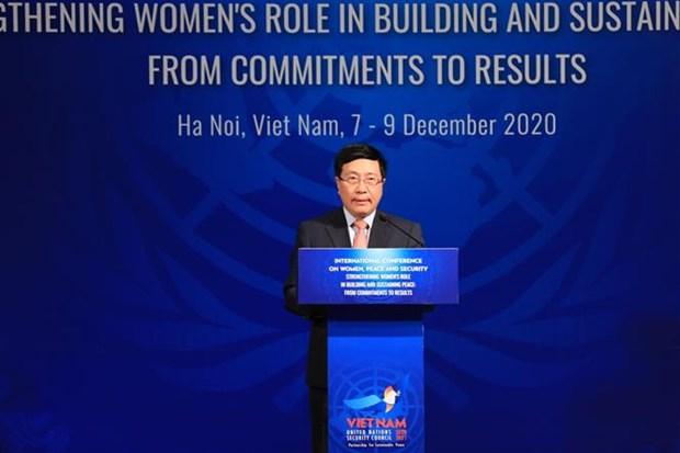 加强妇女在建设和巩固和平中的作用:从承诺到成果 hinh anh 2