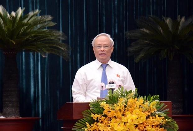 第九届胡志明市人民议会第二十三次会议拉开序幕 hinh anh 2