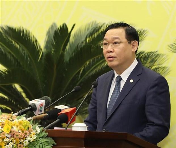 河内市第十五届人民议会第十八次会议召开 hinh anh 2