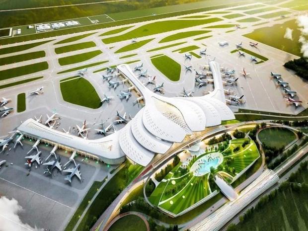 同奈省的龙城国际机场第一项目于12月份开展 hinh anh 1