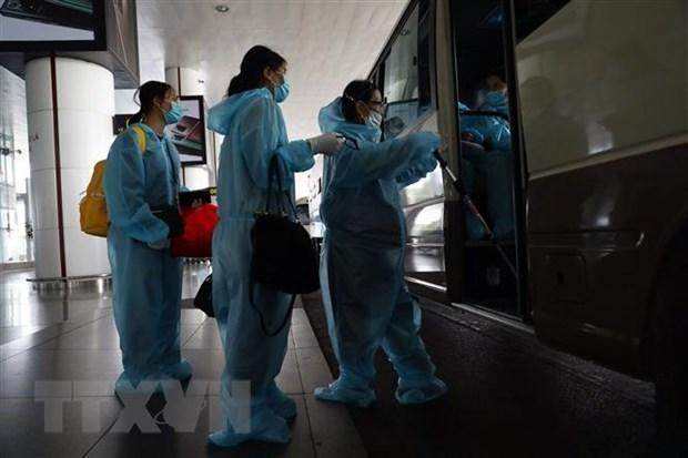 越南新增10例输入性病例 累计病例1377例 hinh anh 1