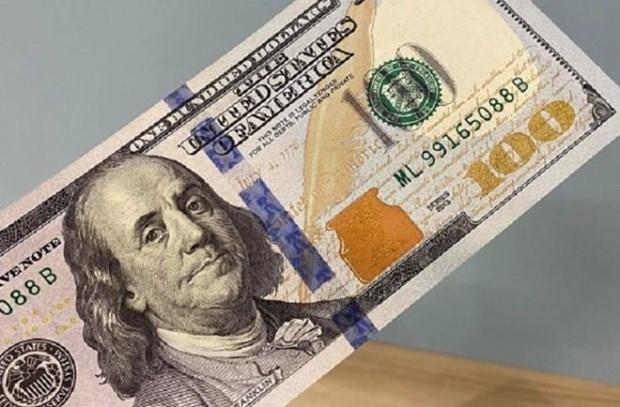 9日上午越盾对美元汇率中间价上涨4越盾 hinh anh 1