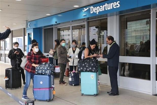 新冠肺炎疫情:将在澳大利亚和新西兰滞留的340多名越南公民安全接回国 hinh anh 1