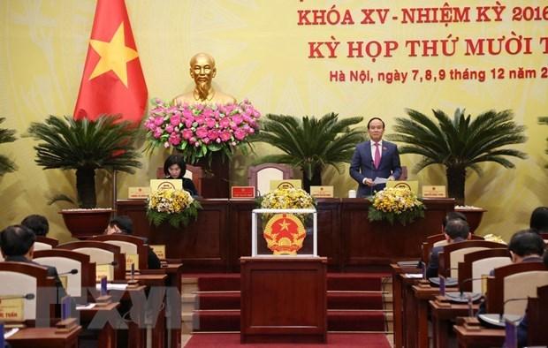 党建:阮玉俊同志担任河内市人民议会主席 hinh anh 1