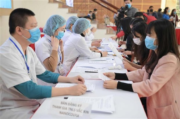 越南开始招募参加新冠疫苗第一阶段临床试验的志愿者 hinh anh 1