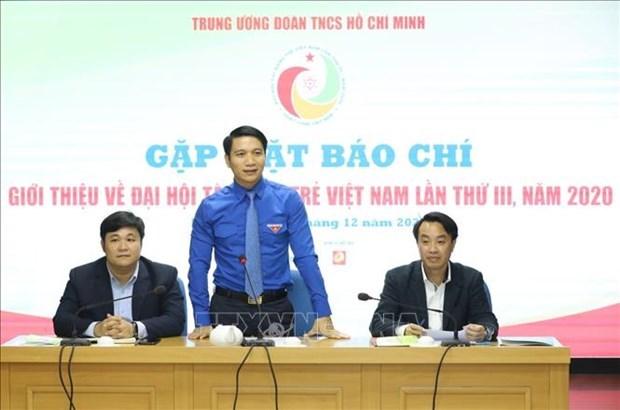 2020年第3次越南青年人才大会吸引400名代表参加 hinh anh 1