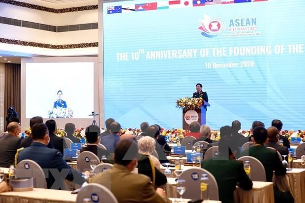ASEAN 2020:越南国防部举行东盟国防部长会议创建10周年纪念典礼 hinh anh 1