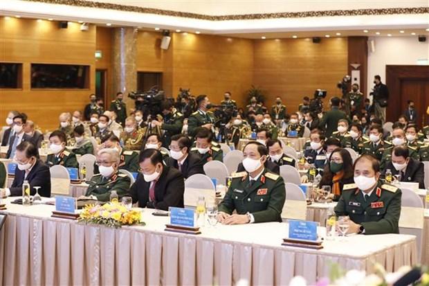 ASEAN 2020:越南国防部举行东盟国防部长会议创建10周年纪念典礼 hinh anh 2