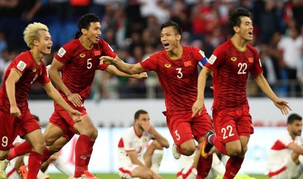 越南国足世界排名创新高 hinh anh 1