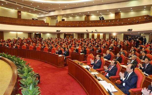 越南共产党第十二届中央委员会第十四次全体会议隆重开幕 hinh anh 3